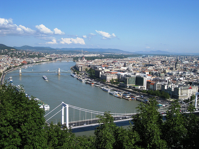 Historical Bridges over the Danube in Budapest