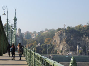Budapest Gellert Hill Liberty Bridge