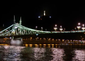 Budapest Liberty Bridge Night Cruise