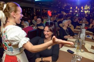 Folklore Show on Danube Cruise Budapest